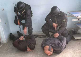 دستگیری گروگانگیرها توسط پلیس نوپو در کلاله + تصاویر