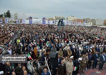 گزارش تصویری/ دیدار رئیسجمهور با مردم استان گلستان در گنبدکاووس