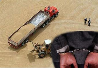 دستگیر 9 نفر از مدیران و کارکنان شرکت غله گلستان