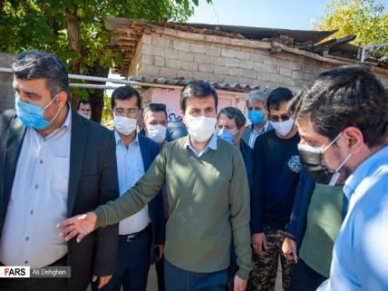 گلستان ما - بازدید عضو هیات رئیس مجلس از روستاهای زلزلهزده رامیان