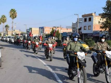 گلستان ما - رژه خودرویی نیروهای مسلح کلاله به مناسبت هفته بسیج+ تصاویر