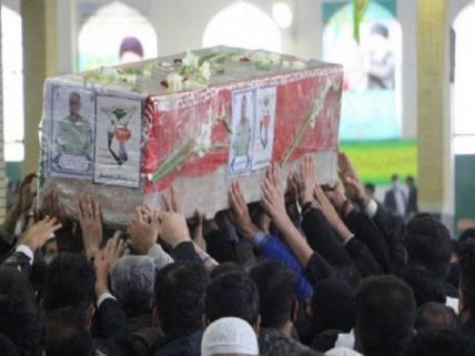 گلستان ما - تشییع شهید مدافع امنیت در زاهدان / تصاویر