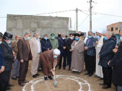 گلستان ما - کلنگ زنی احداث خانه امام جمعه شهرستان گالیکش+ تصاویر