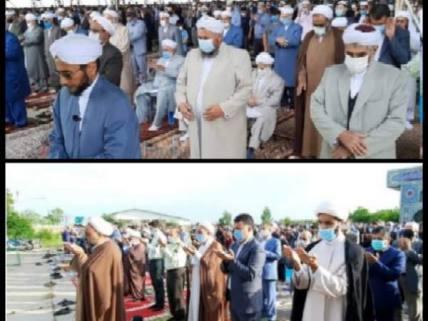گلستان ما - اقامه نماز عید فطر در مصلی های اهل تشیع و تسنن شهرستان کلاله+ تصاویر