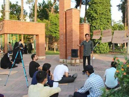 گلستان ما - تریبون آزاد انتخاباتی با موضوع حضور حداکثری  در گنبد(بخش 1)+ تصاویر