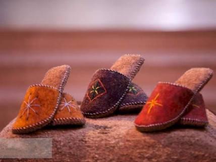 گلستان ما - نمایشگاه دست آفریده های صنایع دستی آلتین چاغی ترکمن